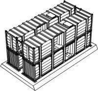 Stapelbare Tankcontainer