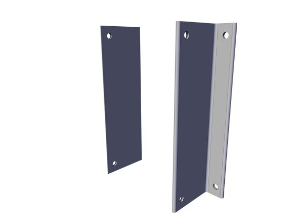 Wall bracket for TTE/TTD-100/250/500