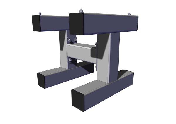 Standkonsole für TTE-50/100 H=500