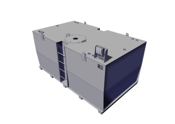 Storage tank double-walled, 9000 L, diesel, heating oil, bio-diesel