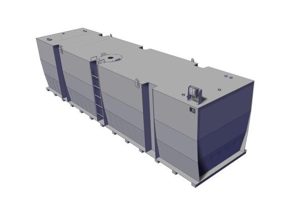 Lagertank doppelwandig, 30000 L, Diesel, Heizöl, Bio-Diesel