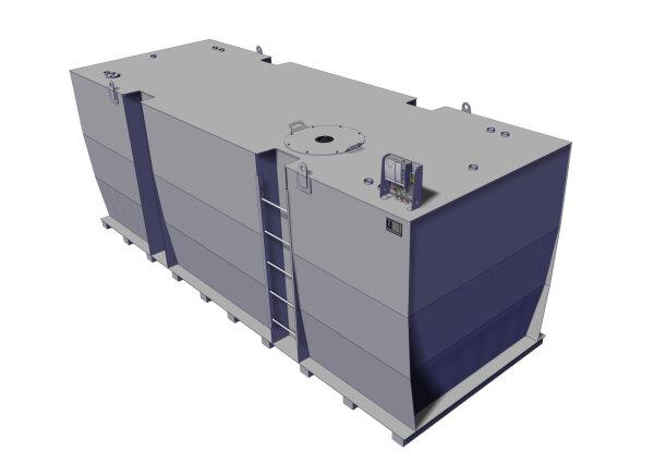 Storage tank double-walled, 20000 L, diesel, heating oil, bio-diesel
