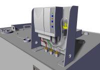 Storage tank double-walled, 2000 L, diesel, heating oil, bio-diesel
