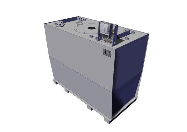 Storage tank double-walled, 2500 L, diesel, heating oil, bio-diesel