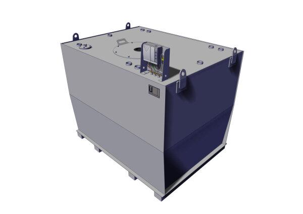 Storage tank double-walled, 4000 L, diesel, heating oil, bio-diesel