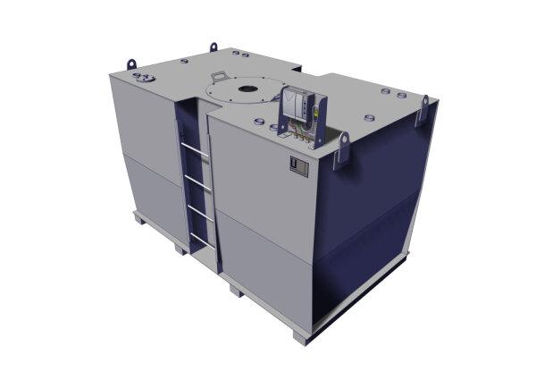 Storage tank double-walled, 4500 L, diesel, heating oil, bio-diesel