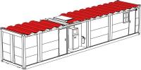 Sonnenschutzdach für 20 ft