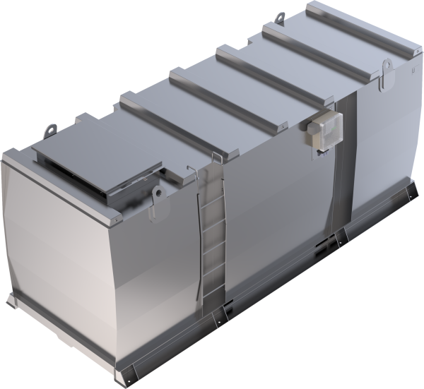 Lagertank doppelwandig (20.000 ltr.) Diesel/Heizöl Variante A