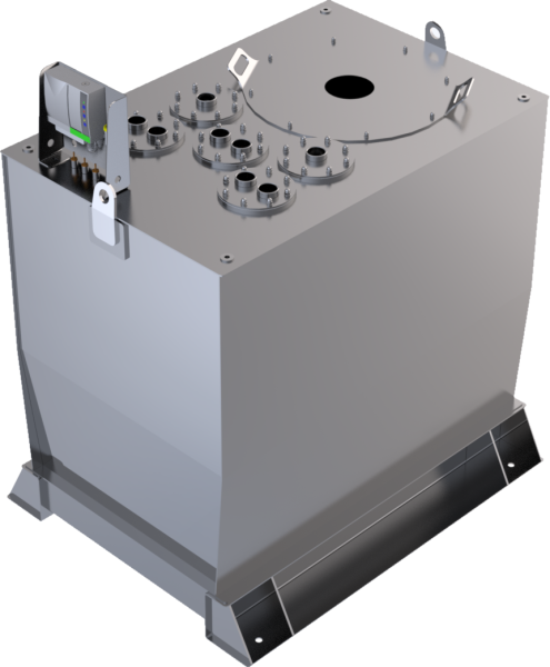 Lagertank doppelwandig (1.500 ltr.) Harnstoff Variante C
