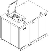 Storage tank double-walled (10.000 ltr.) Urea Variant E