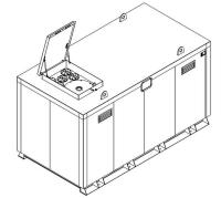 Storage tank double-walled (15.000 ltr.) Urea Variant E