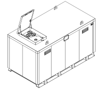Storage tank double-walled (15.000 ltr.) Urea Variant H