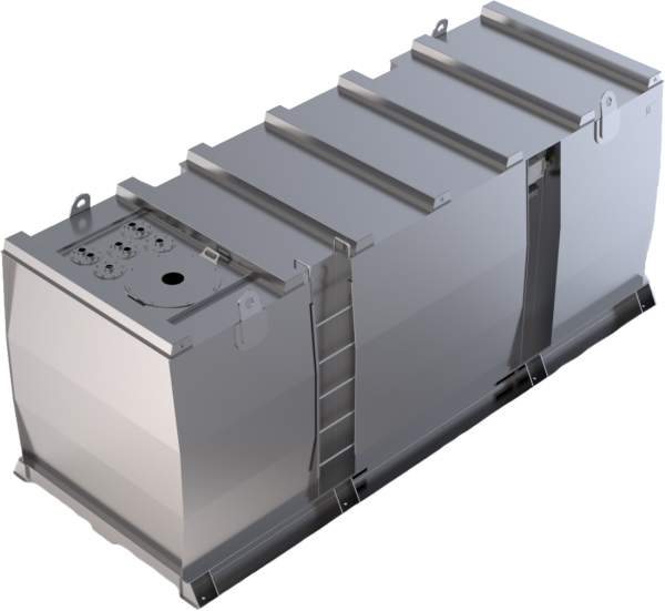 Storage tank double-walled (20.000 ltr.) Urea Variant G