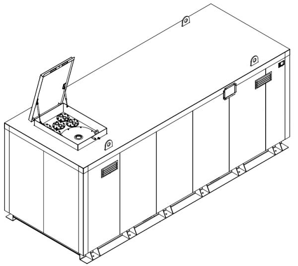 Storage tank double-walled (20.000 ltr.) Urea Variant H