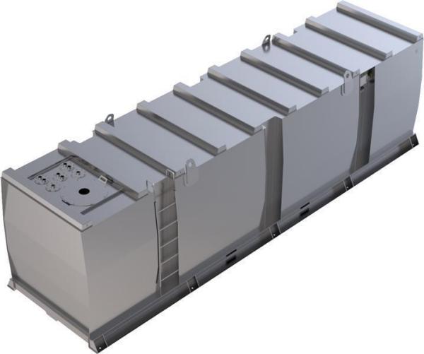 Storage tank double-walled (30.000 ltr.) Diesel/Heating Oil Var. A