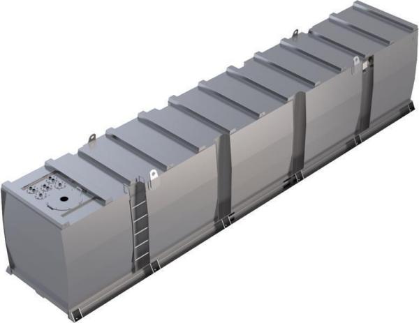 Storage tank double-walled (40.000 ltr.) Urea Variant G