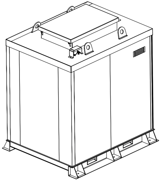Storage tank double-walled (5.000 ltr.) Urea Variant E