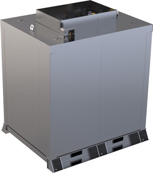 Storage tank double-walled (5.000 ltr.) diesel/heating oil Variant F