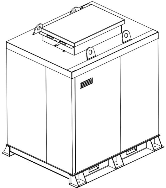 Storage tank double-walled (5.000 ltr.) Urea Variant H