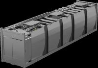 KCU-ST-402-D/Hel Tankstellencontainer Diesel/Heizöl