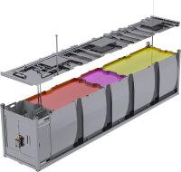 KCU-ST-403-D/HEL/EX Tankstellencontainer...