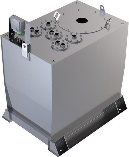 Lagertank doppelwandig (1.500 ltr.) Schmieröl Var. A