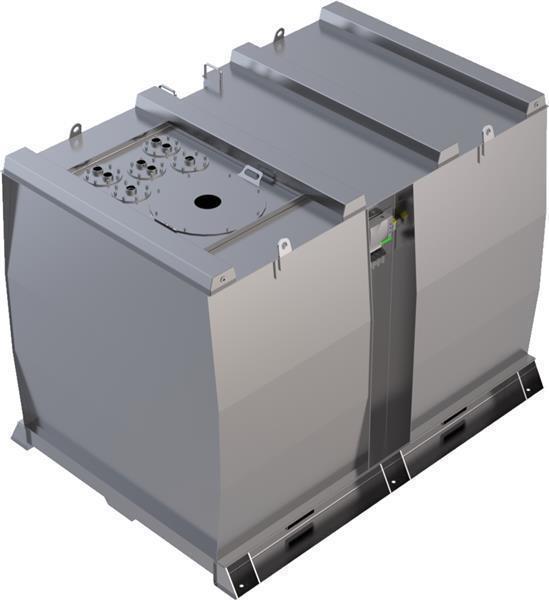Lagertank doppelwandig (10.000 ltr.) Schmieröl Var. A