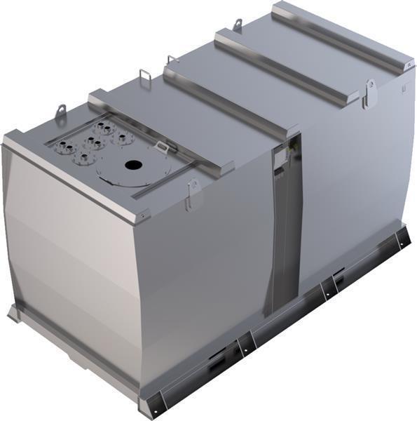 Lagertank doppelwandig (15.000 ltr.) Schmieröl Var. A