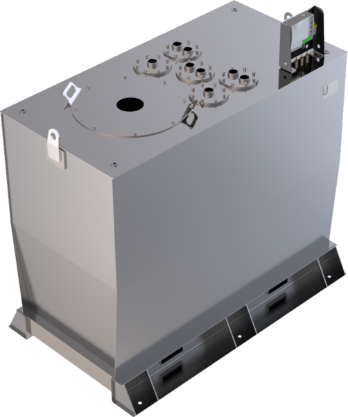 Storage tank double-walled (2.500 ltr.) Gasoline Variant A