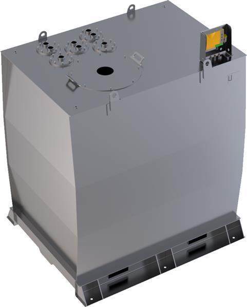 Lagertank doppelwandig (5.000 ltr.) Schmieröl Variante D