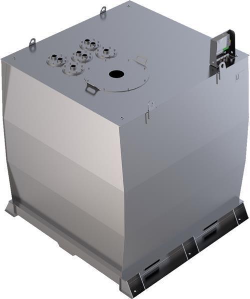 Lagertank doppelwandig (7.000 ltr.) Schmieröl Variante D
