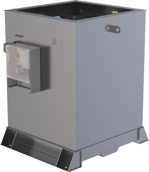Lagertank doppelwandig (1.000 ltr.) Schmieröl Variante F