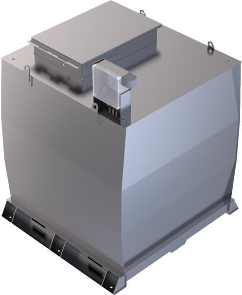Lagertank doppelwandig (7.000 ltr.) Schmieröl Variante A