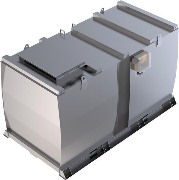 Lagertank doppelwandig (15.000 ltr.) Schmieröl Variante A