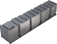 Lagertank doppelwandig (40.000 ltr.) Schmieröl...