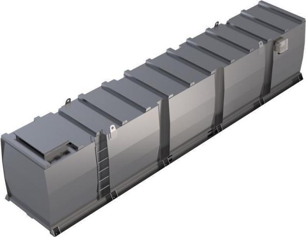 Lagertank doppelwandig (40.000 ltr.) Schmieröl Variante D