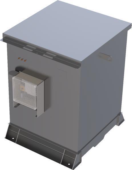 Lagertank doppelwandig (1.000  ltr.) Schmieröl Variante B