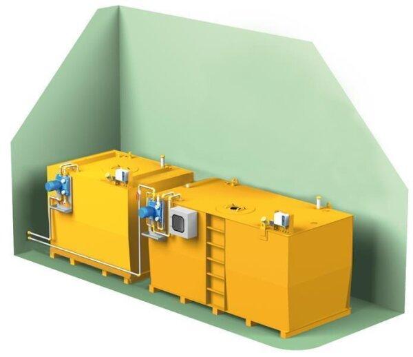 Ölversorgungsanlage-Komplettsystem MAXIMAL III