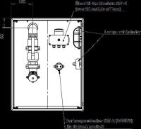 Befüll- und Entsorgungsschrank 760x760x300 Urea