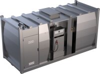 Fuel station container double-walled, 20000 L, with...